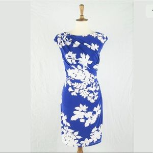 American Living Ralph Lauren Floral Stretch Dress